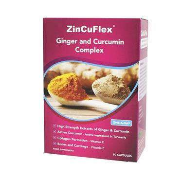 ZINCUFLEX JOINT SUPPORT 60 CAPSULES
