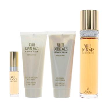 WHITE DIAMONDS 4 PIECE GIFT SET 100ML