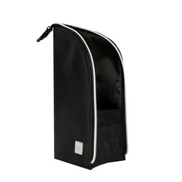 BLANK CANVAS STANDEE POUCH BRUSH HOLDER BLACK