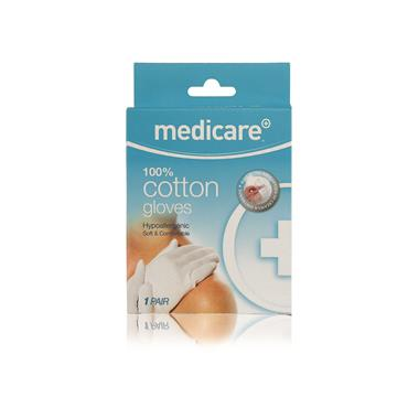 MEDICARE COTTON GLOVES SIZE SMALL