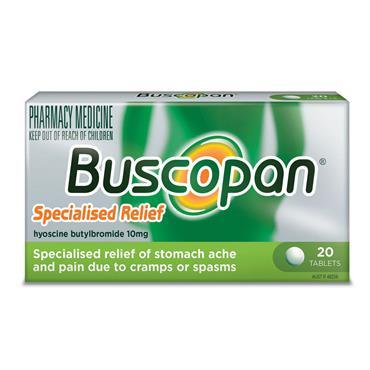 BUSCOPAN 10MG 20S