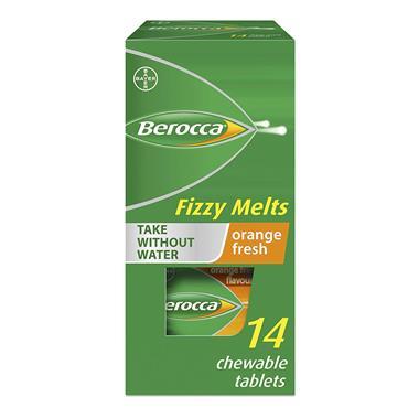 BEROCCA BOOST FIZZY MELTS 14S