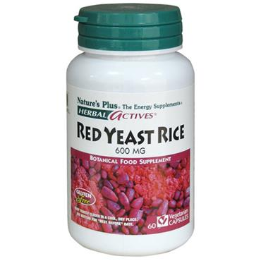 NATURES PLUS GARDEN RED YEAST RICE 600MG 60 CAPSULES