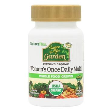 NATURES PLUS GARDEN ORGANIC WOMENS ONCE DAILY MULTI 30 TABLETS