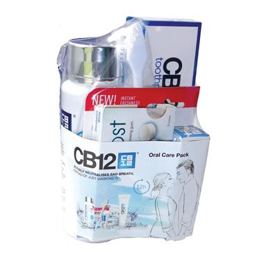 CB12 ORAL ACTIVELY NEUTRALISES BAD BREATH CARE PACK