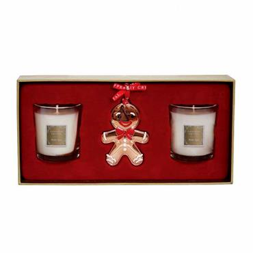 TIPPERARY CRYSTAL WINTER SPICE DECOR SET