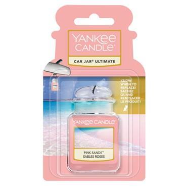 YANKEE PINK SANDS ULTIMATE CAR JAR