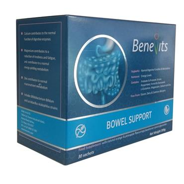 BENEVITS BOWEL SUPPORT 30S