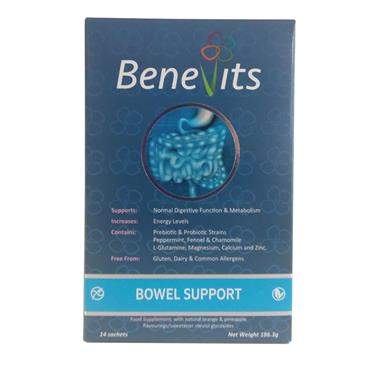 BENEVITS BOWEL SUPPORT 14S