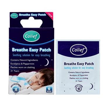 COLIEF BREATH EASY PATCH 6S