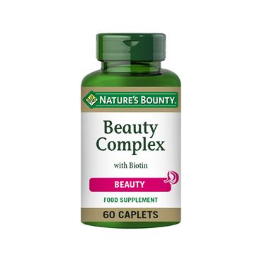 NATURE'S BOUNTY BEAUTY COMPLEX WITH BIOTIN 60 TABLETS
