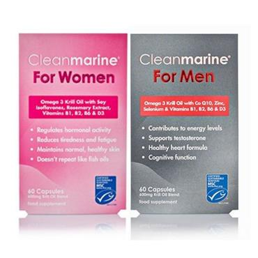 CLEANMARINE FOR MEN & FOR WOMEN SPECIAL OFFER BANDED PACK