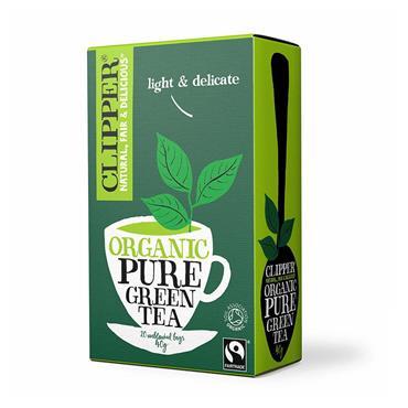 CLIPPER PURE GREEN TEA 25S