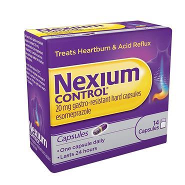NEXIUM CONTROL GASTRO- RESISTANT 14 CAPSULES