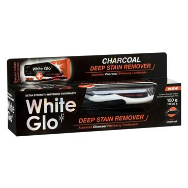 WHITE GLO CHARCOAL TOOTHPASTE