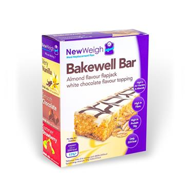 NEW WEIGH MEAL REPLACEMENT PLAN BAKEWELL BAR 7 BARS
