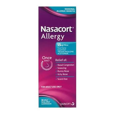 NASACORT ALLERGY NASAL SPRAY 30ML