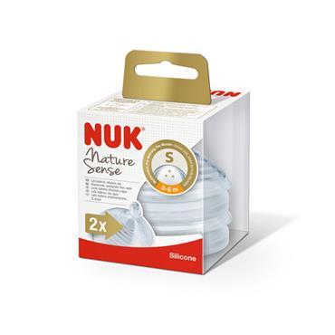 NUK NATURE SENSE TEAT 0-6 SMALL