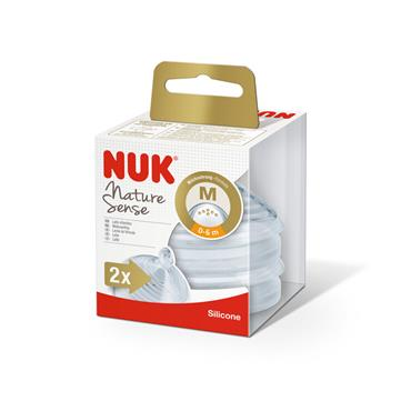 NUK NATURE SENSE TEAT 0-6 MEDIUM