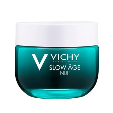 VICHY SLOW AGE NIGHT FRESH CREAM & MASK ALL SKIN TYPES 50ML