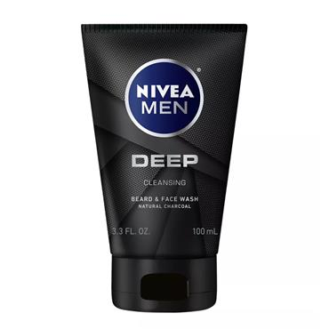 NIVEA MEN CHARCOAL FACE WASH 100ML