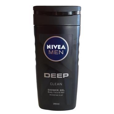 NIVEA MEN DEEP CLEAN SHOWER GEL 250ML