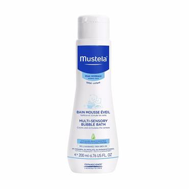 MUSTELA MULTISENSORY BUBBLEBATH 200ML