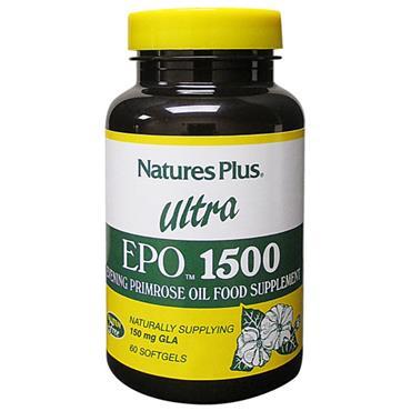 NATURES PLUS ULTRA EVENING PRIMROSE OIL 1500MG 60 CAPSULES