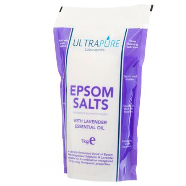 ULTRA PURE EPSOM SALTS LAVENDER 1K