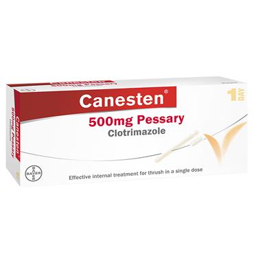 CANESTEN 500MG PESSARY GEL 10G