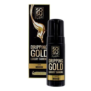 SOSU DRIPPING GOLD TAN DARK MOUSE