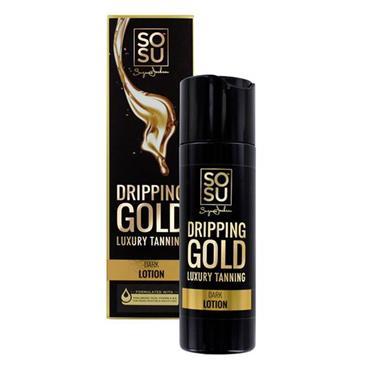 SOSU DRIPPING GOLD TAN DARK LOTION