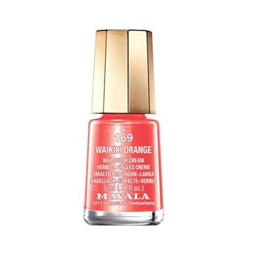 MAVALA 169 WAIKIKI ORANGE POLISH 5ML