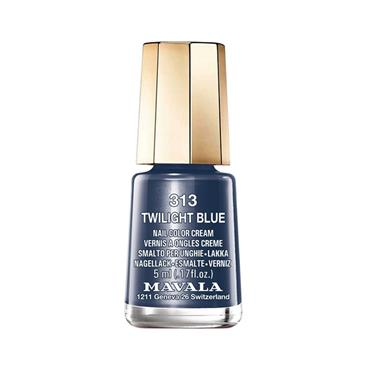 MAVALA 313 TWILIGHT BLUE POLISH 5ML