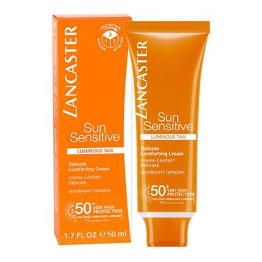 LANCASTER SUN SENSITIVE DELICATE COMFORTING CREAM SPF50 50ML