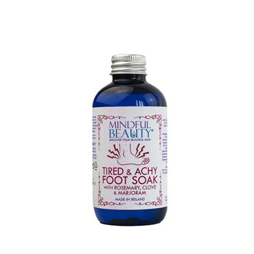 MINDFUL BEAUTY TIRED AND ACHY FOOT SOAK 100ML