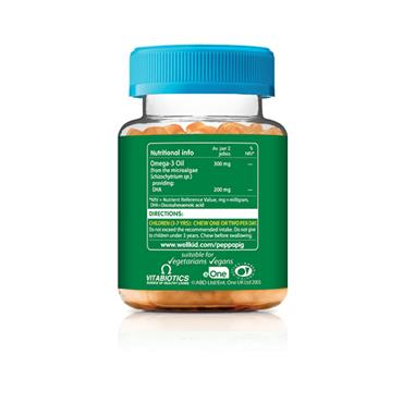 VITABIOTICS PEPPA PIG OMEGA-3 DHA 30 SOFT JELLIES