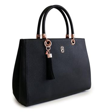 TIPPERARY CRYSTAL MILANO TOTE BLACK