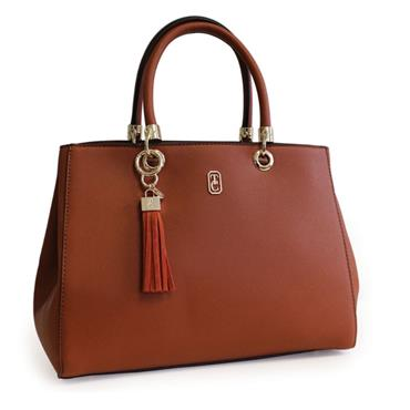 TIPPERARY CRYSTAL MILANO TOTE BROWN