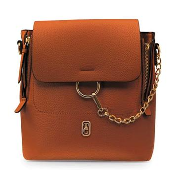 TIPPERARY CRYSTAL MESSINA BACKPACK BROWN