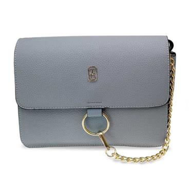 TIPPERARY CRYSTAL VERONA SHOULDER BAG GREY