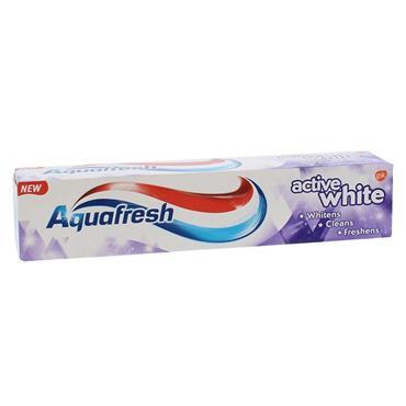AQUAFRESH ACTIVE WHITE 125ML TOOTHPASTE