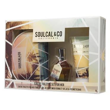 SOUL CAL LADIES 75ML 3 PIECE SET
