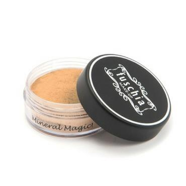 FUSCHIA MINERAL FOUNDATION IN TOFFEE