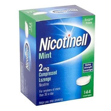 NICOTINELL 2MG MINT LOZENGE 144S