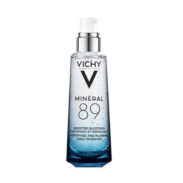 VICHY MINERAL 89 FORTIFYING AND PLUMPING DAILY BOOSTER WITH HYALURONIC ACID 75ML