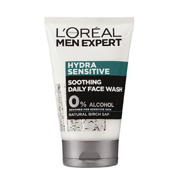 LOREAL MEN HYDRA SENSITIVE SOOTHING DAILY FACE WASH 100ML