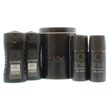 LYNX BLACK MINI TIN SET 5 PIECE