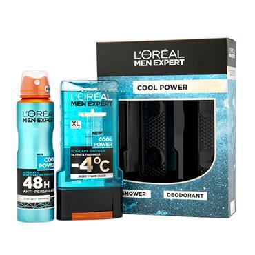 LOREAL MEN EXPERT COOL POWER DUO