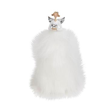 WIDDOP FLUFFY ANGEL FIGURINE 18CM